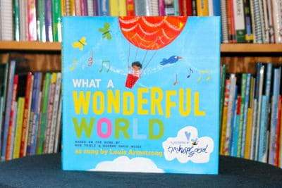 What a Wonderful World music based book